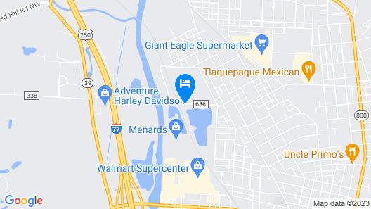 Mystery Lake Map