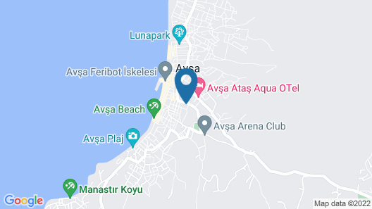 Ozgur Motel Map