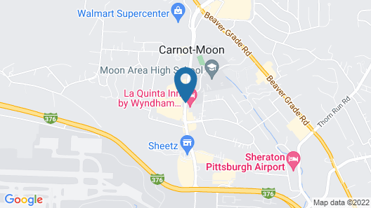 La Quinta Inn by Wyndham Pittsburgh Airport Map