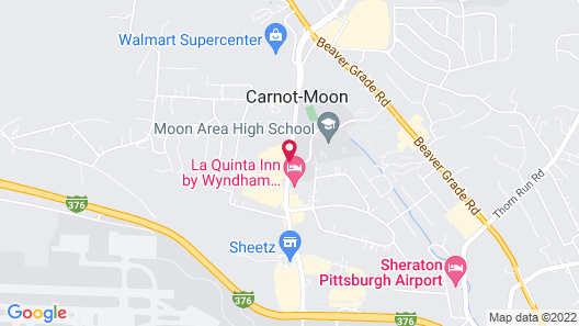 DoubleTree by Hilton Pittsburgh Airport Map