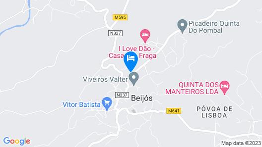 I Love Dão - Casas Da Fraga Map