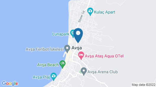 Adaroom Apart Otel Map