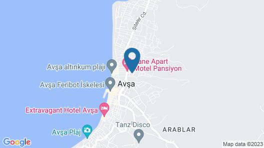 Avsa Okyanus Apart Otel Map