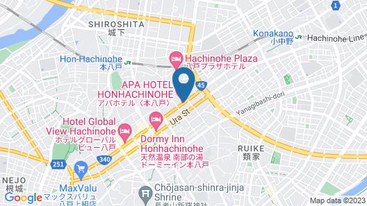 APA Hotel Honhachinohe Map
