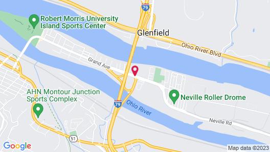 Fairfield Inn & Suites by Marriott Pittsburgh Neville Island Map