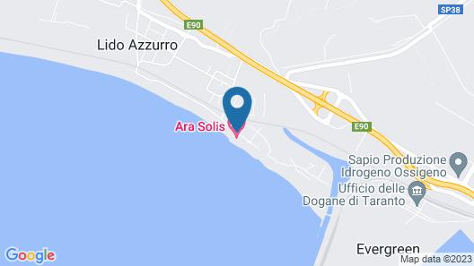 Best Western Hotel Ara Solis Map