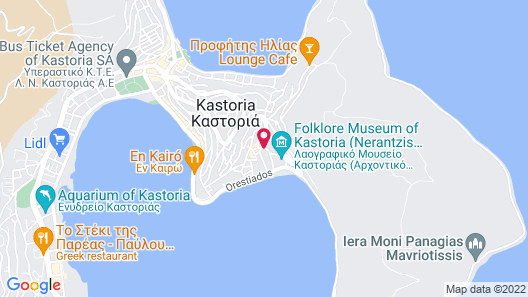 Orologopoulos Mansion Map