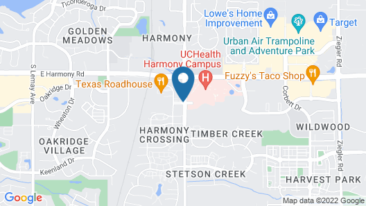 Home2 Suites by Hilton Fort Collins Map