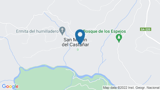 Casa Rural Buenaventura Map