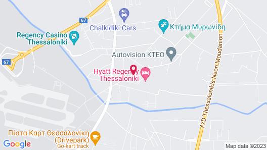 Hyatt Regency Thessaloniki Map