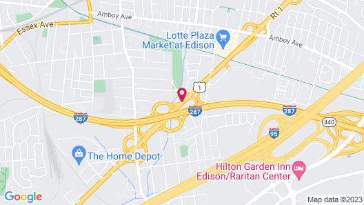 Lee's Motel Map