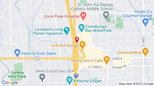 Fairfield Inn by Marriott Salt Lake City Draper Map