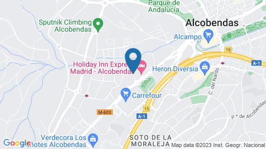 Hotel ibis Madrid Alcobendas Map