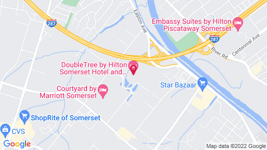 Doubletree by Hilton Somerset Hotel and Conference Center Map