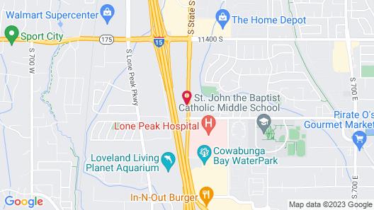 SpringHill Suites by Marriott Salt Lake City Draper Map