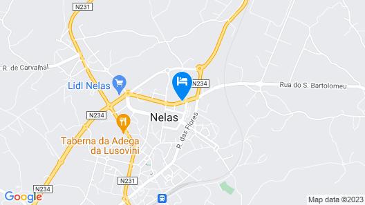 Agua Hotels Nelas Parq.  Map