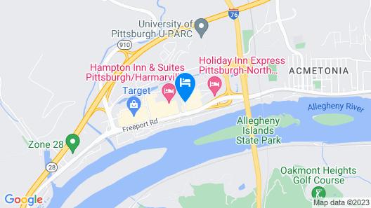 Days Inn by Wyndham Pittsburgh-Harmarville Map