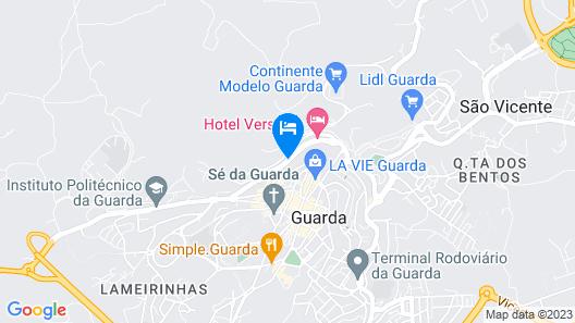 Hotel Vanguarda Map