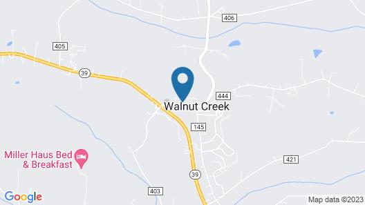 Carlisle Inn Walnut Creek Map