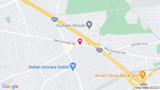 Red Roof Inn Edison Map