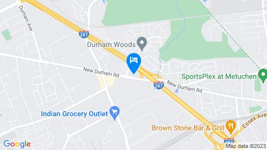 Home2 Suites by Hilton Edison, NJ Map
