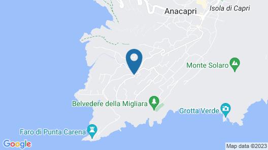 Villa Cristina Map