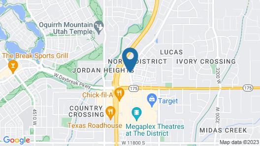 SpringHill Suites by Marriott Salt Lake City-South Jordan Map