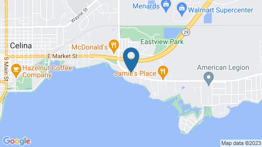 Americas Best Value Inn Celina Map