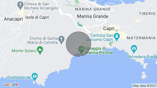 Villa Capri Marina Map