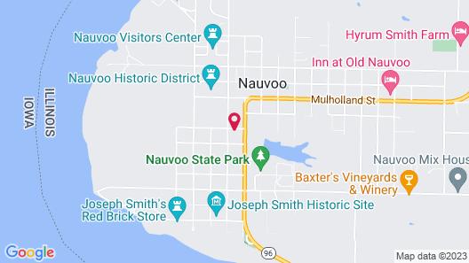 Willard Richards Inn Map