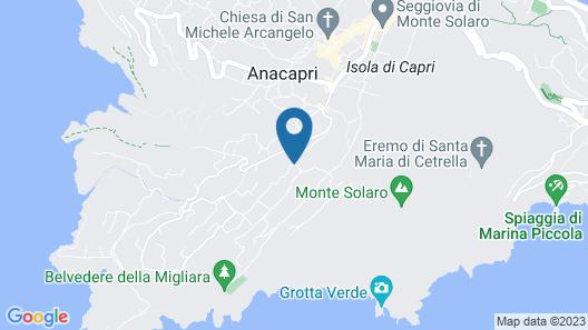 Hotel Il Girasole Map