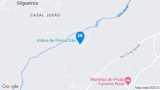 Póvoa Dão Map