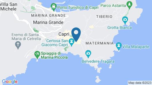 Hotel Mamela Map