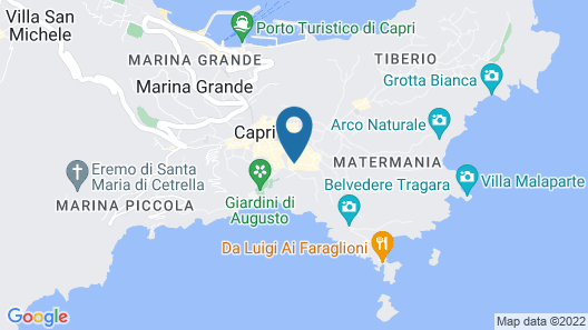 Hotel La Floridiana Map