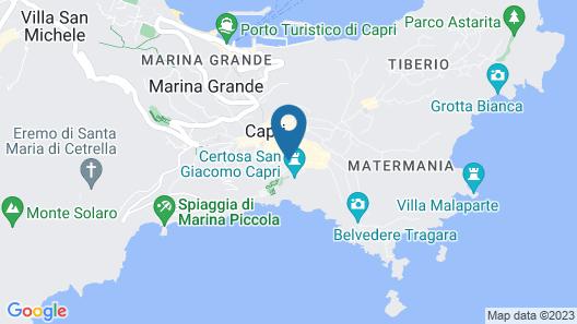 Sina Flora Capri Map