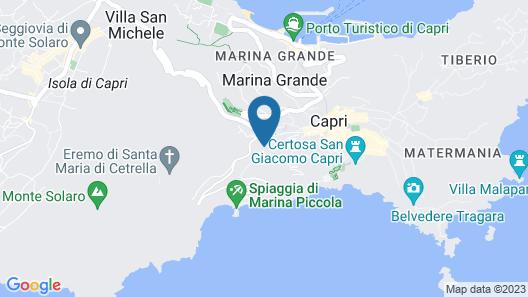 Hotel della Piccola Marina Map