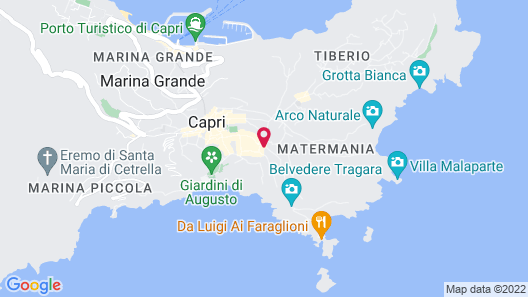 Hotel Casa Morgano Map