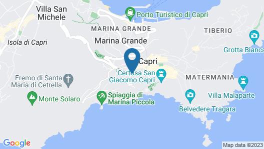 Villa Shangri La Map