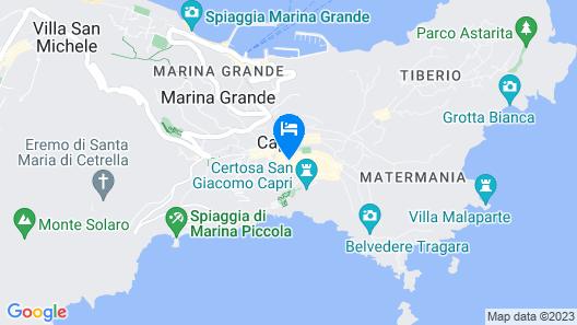 Villa San Felice Map