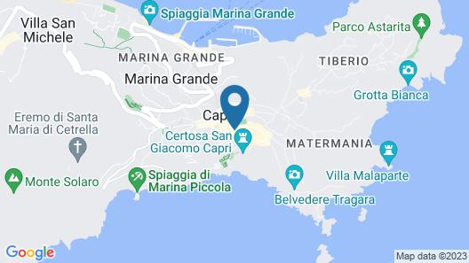 Grand Hotel Quisisana Map