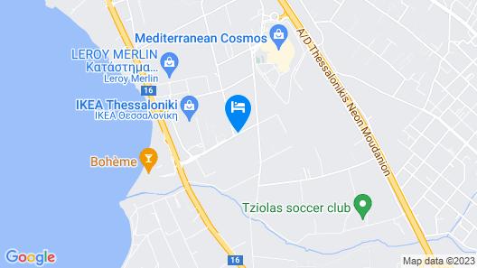 Hotel Nikopolis Map