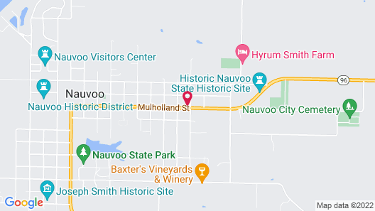 Nauvoo Family Inn and Suites Map