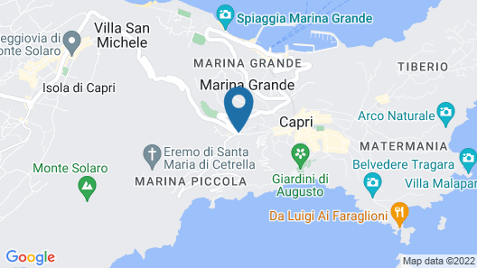 Hotel 4 Stagioni Map