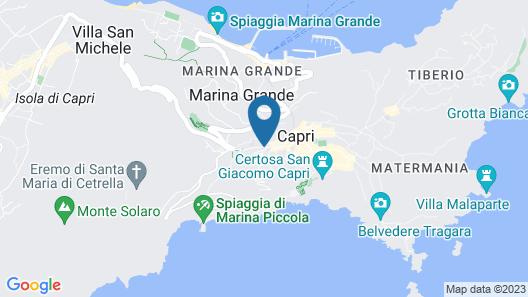 Hotel Capri Map