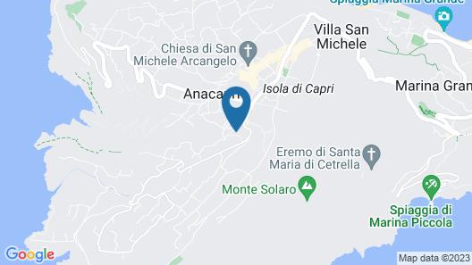 Casetta Anacaprese Map
