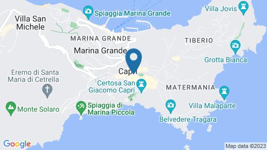 Gatto Bianco Hotel & SPA Map