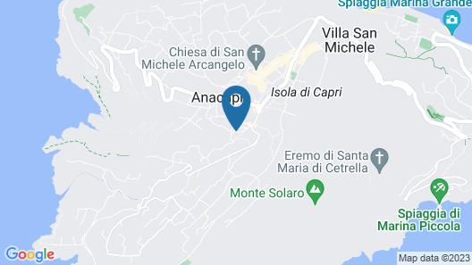 Casa Caprile Map
