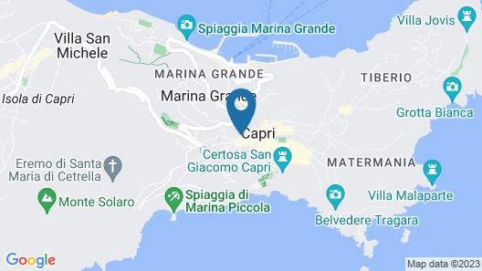 Capri Town Apartments Map