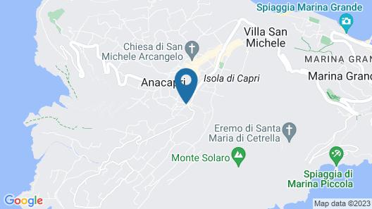Villetta Caprile Map