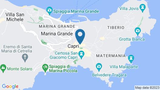 Hotel A Pazziella Map